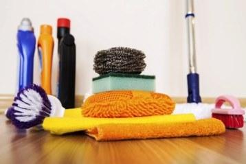 Paspas firça ve çeşitli temizlik malzemeleri